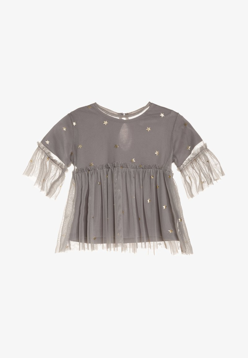 Outfit Kids - STAR PRINT IN FOIL - T-shirts print - grey