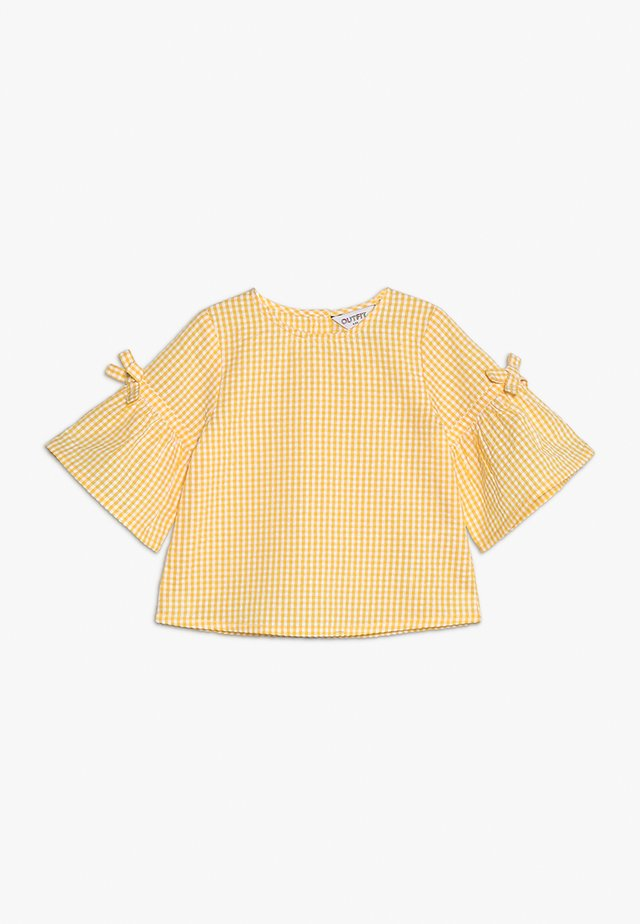 GINFHAM TOP FRILL  - Blouse - yellow