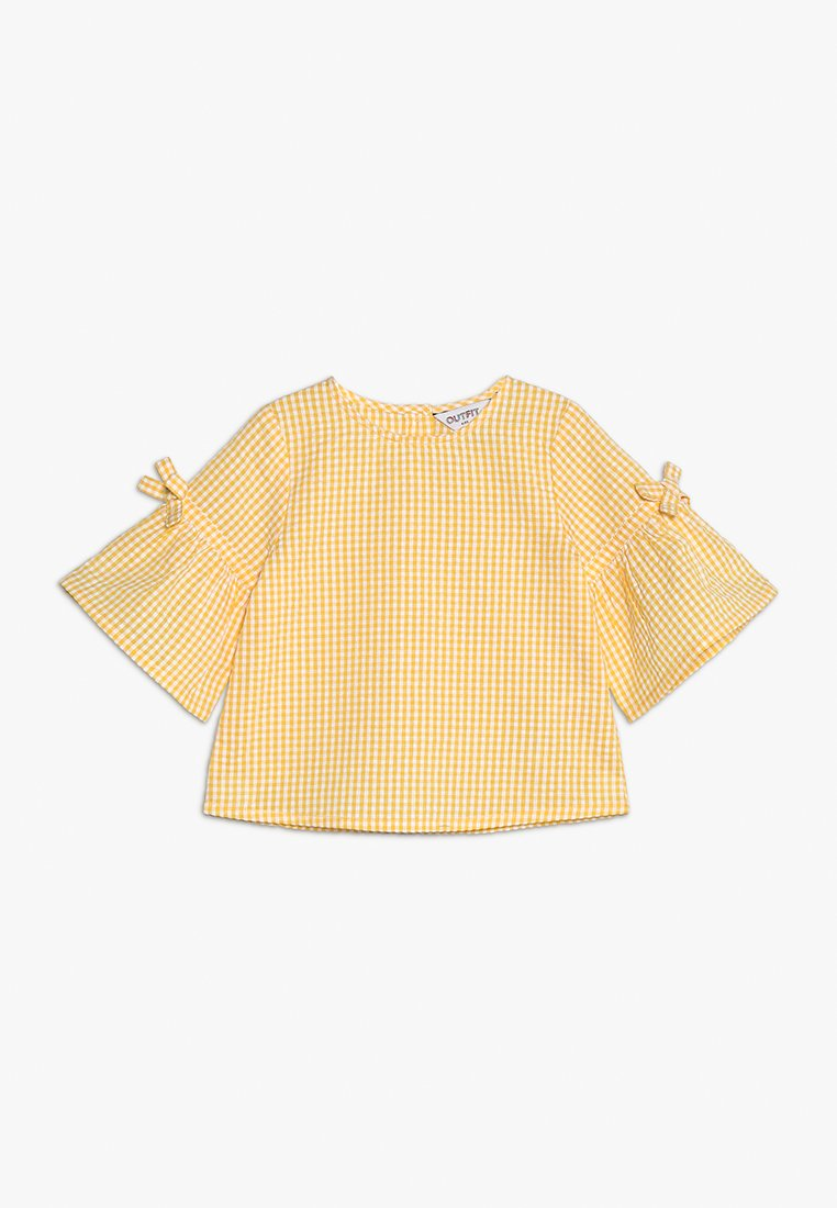 Outfit Kids - GINFHAM TOP FRILL  - Blůza - yellow