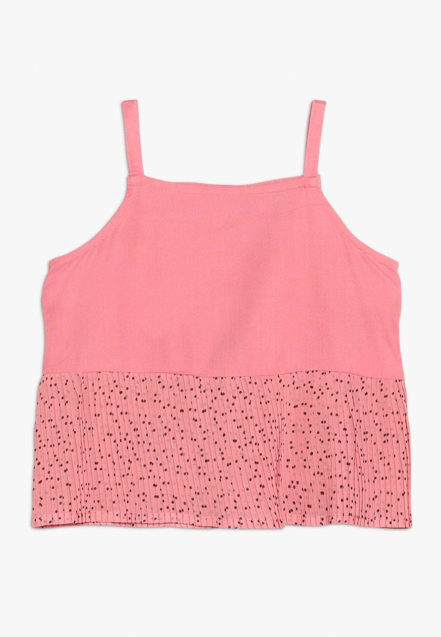 PLEATED SPOT - Blouse - pink