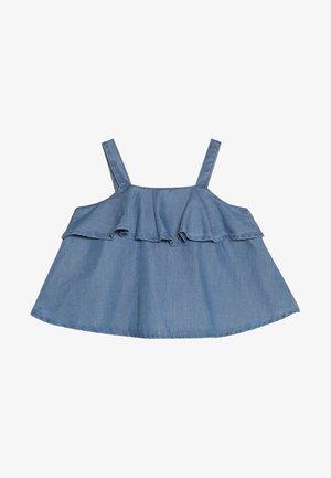 CHAMBRAY TIER - Tunic - blue