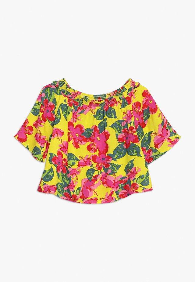 FLORAL PRINT TOP - Blouse - multicolor