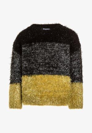 SPARKLE SLOGAN - Pullover - black