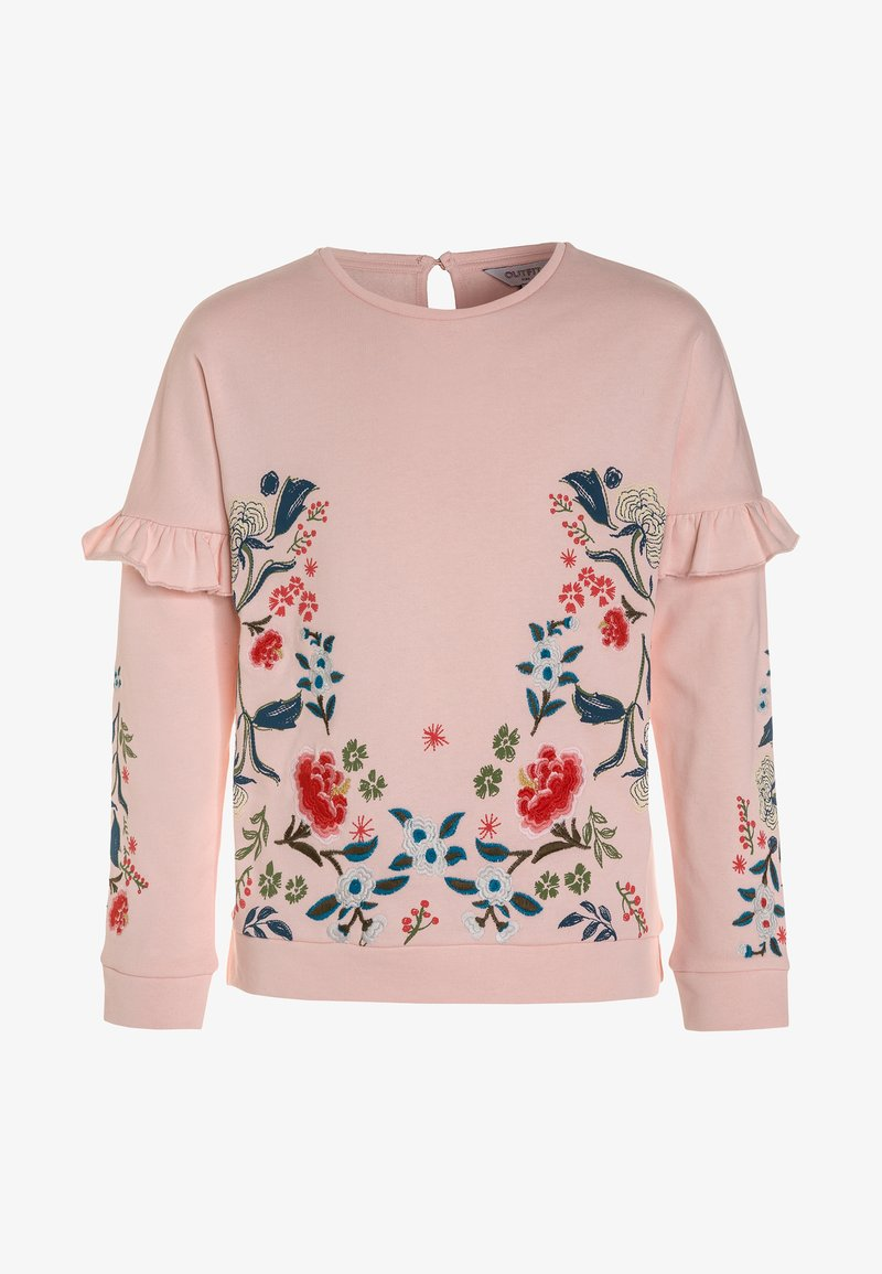 Outfit Kids - FLORAL RUFFLE - Sweatshirts - pink