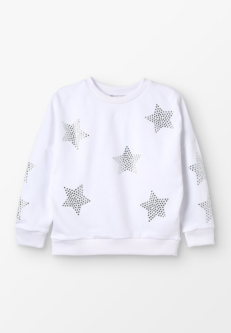 Outfit Kids - SEQUIN STAR  - Sweatshirts - white