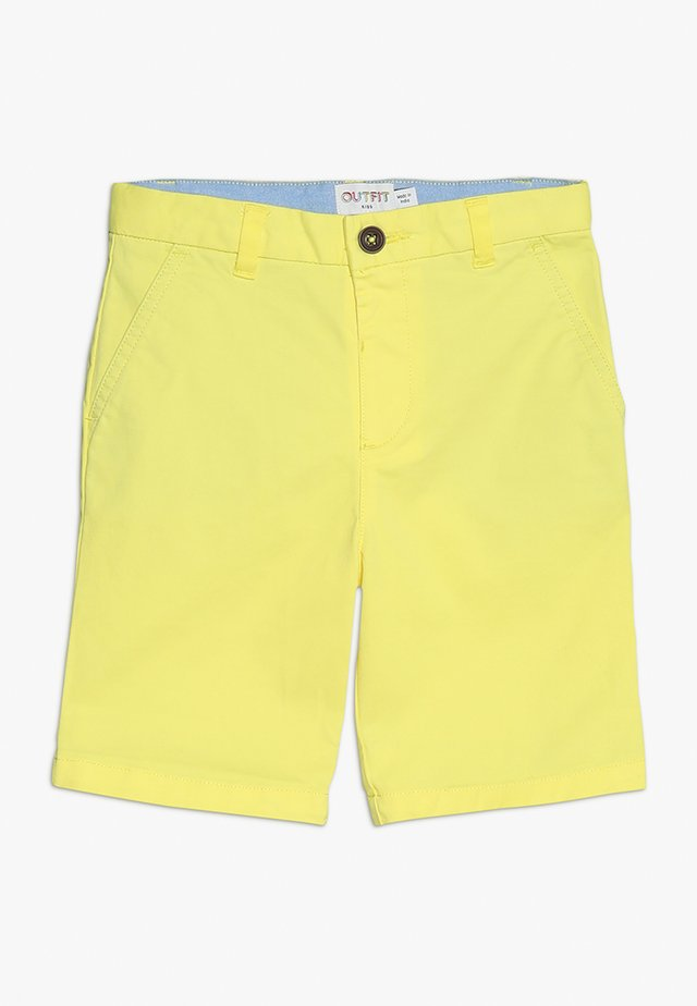 YELLOW CHINO - Shorts - yellow