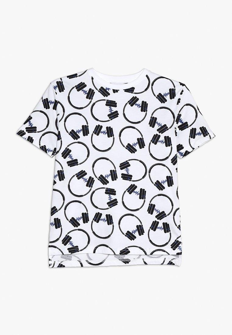 Outfit Kids - HEADPHONE TEE - Print T-shirt - white