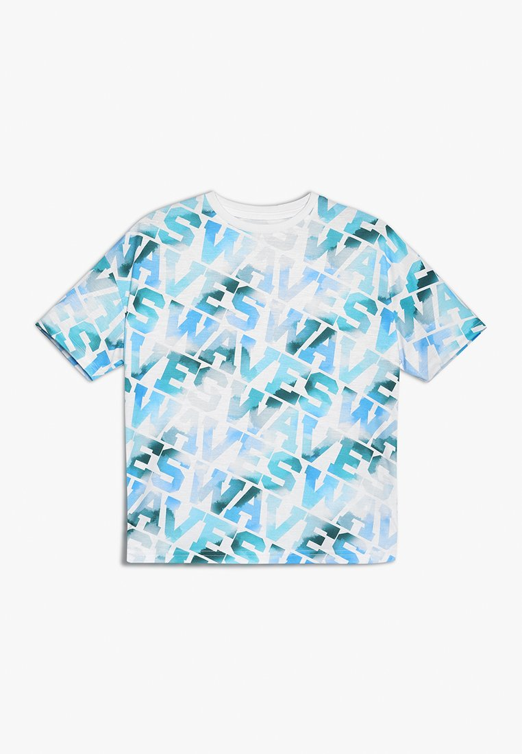 Outfit Kids - WAVES SLOGAN TEE - T-shirt con stampa - white