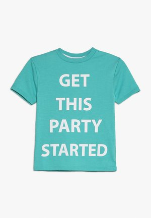 GET THIS PARTY STARTED TEE - T-shirt z nadrukiem - green