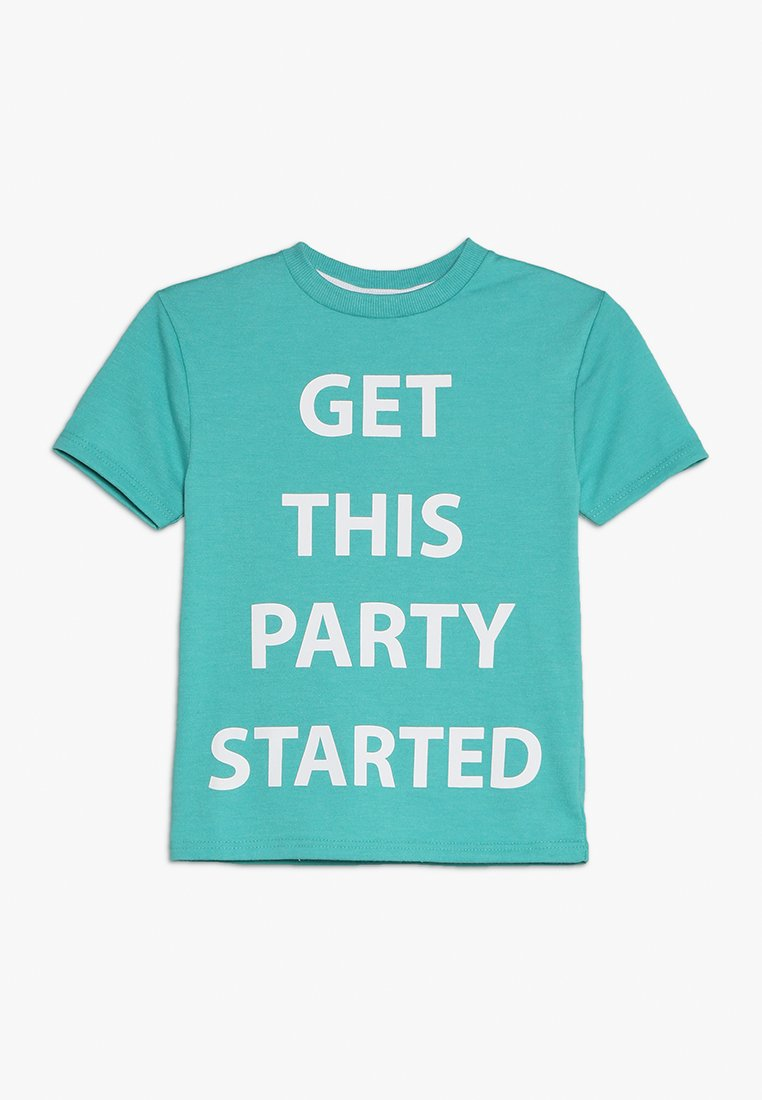 Outfit Kids - GET THIS PARTY STARTED TEE - T-shirts print - green