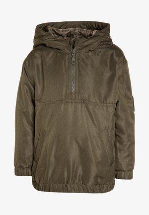 HALF ZIP JACKET - Winter jacket - khaki/olive