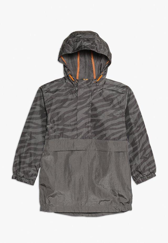 HALF ZIP ZEBRA JACKET - Light jacket - black