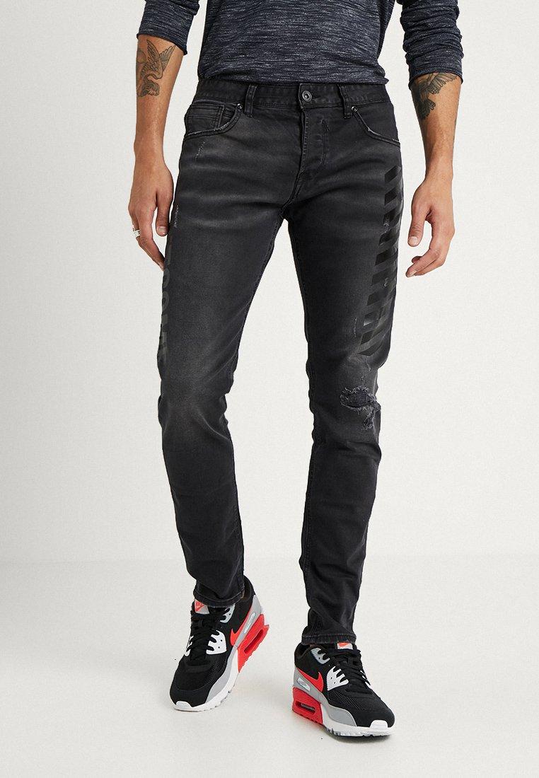 Outcome - Vaqueros slim fit - black