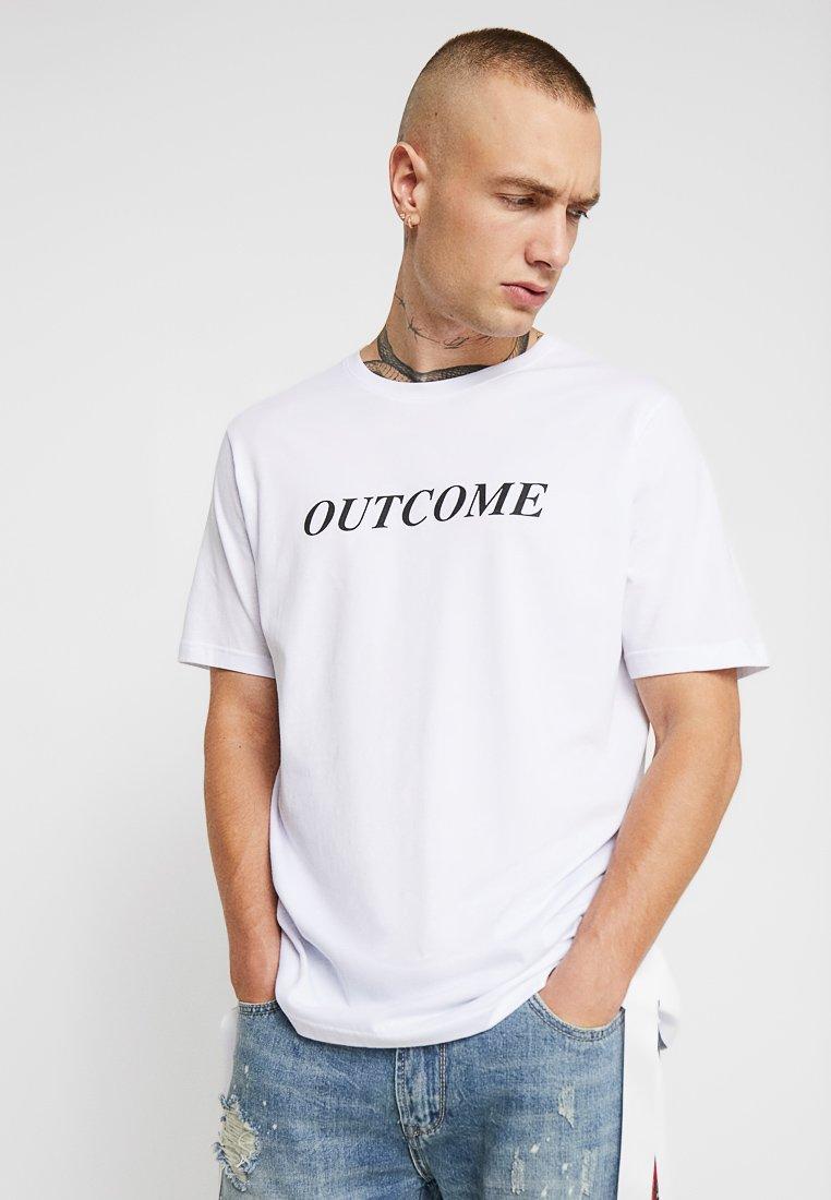 Outcome - Print T-shirt - white