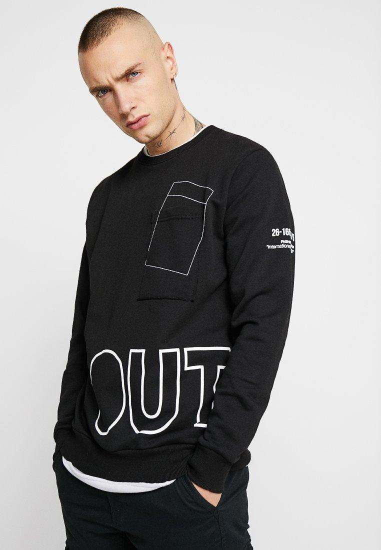 Outcome - FELPA - Sweatshirt - black