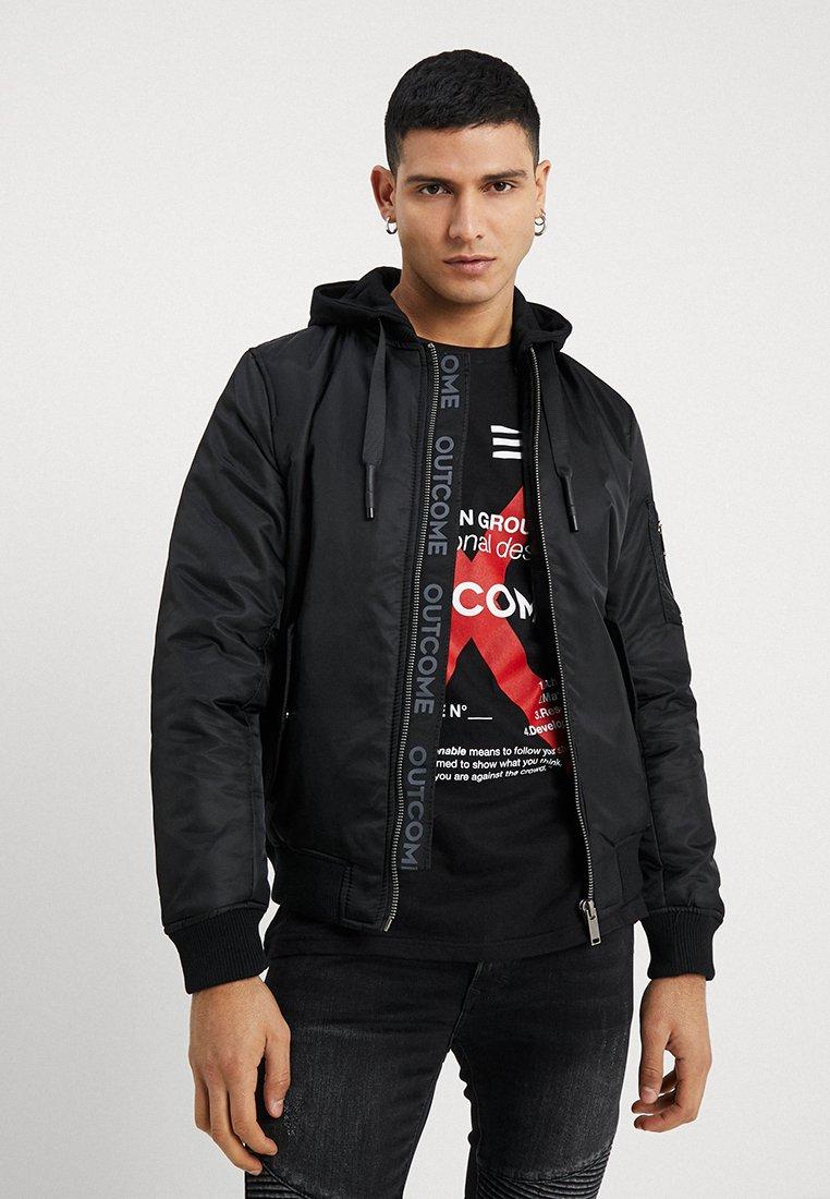 Outcome - JACKET - Light jacket - black