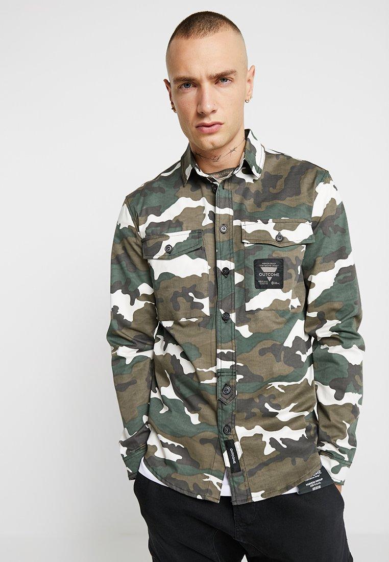 Outcome - CAMICIA - Summer jacket - green