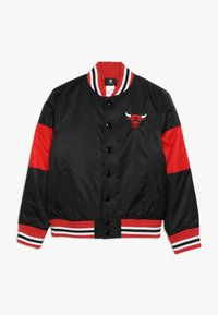Outerstuff - NBA CHICAGO BULLS THROW BACK VARSITY JACKET - Equipación de clubes - black/red - 0