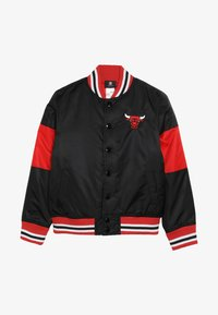 Outerstuff - NBA CHICAGO BULLS THROW BACK VARSITY JACKET - Equipación de clubes - black/red - 3