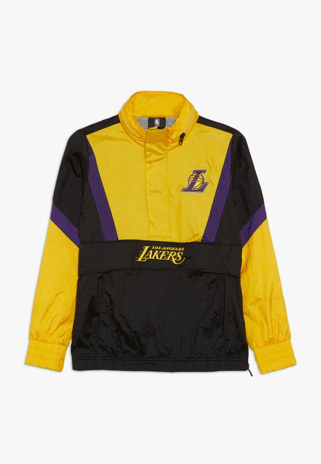 NBA LOS ANGELES LAKERS WARM UP CRINKLED PACK  - Artykuły klubowe - black/yellow