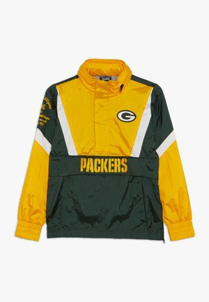 NFL GREEN BAY PACKERS - Wiatrówka - fir/university gold