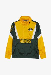 Outerstuff - NFL GREEN BAY PACKERS - Wiatrówka - fir/university gold - 3