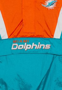 Outerstuff - NFL MIAMI DOLPHINS - Větrovka - turbogreen/brilliant orange - 4