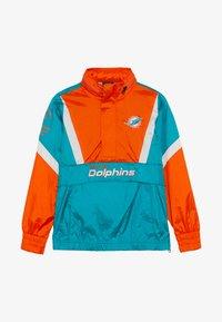 Outerstuff - NFL MIAMI DOLPHINS - Veste coupe-vent - turbogreen/brilliant orange - 3