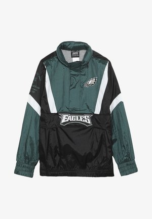NFL PHILADELPHIA EAGLES  - Wiatrówka - sport teal/black