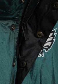 Outerstuff - NFL PHILADELPHIA EAGLES  - Cortaviento - sport teal/black - 5