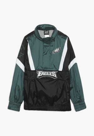 NFL PHILADELPHIA EAGLES  - Větrovka - sport teal/black