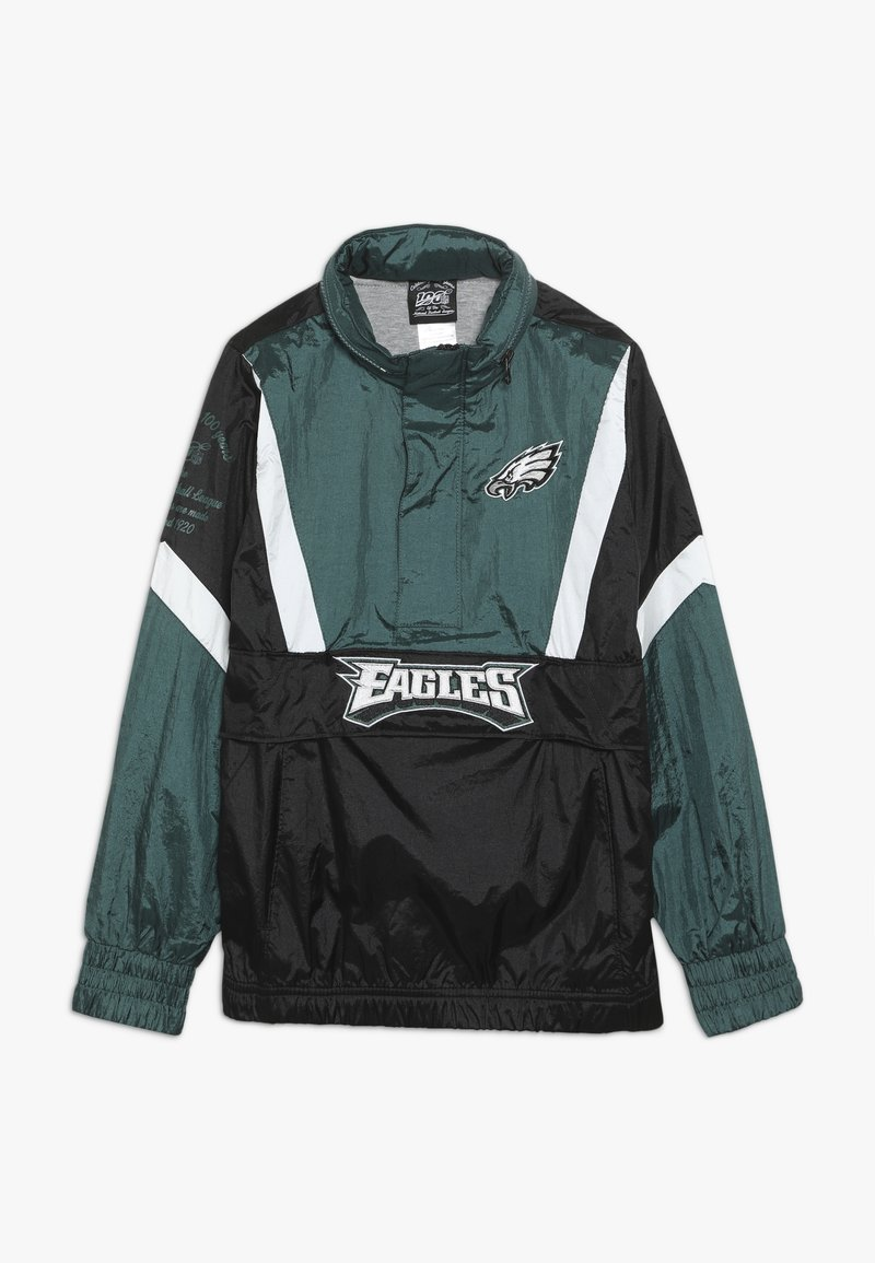 Outerstuff - NFL PHILADELPHIA EAGLES  - Cortaviento - sport teal/black
