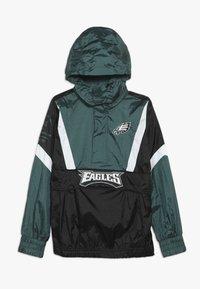 Outerstuff - NFL PHILADELPHIA EAGLES  - Cortaviento - sport teal/black - 2