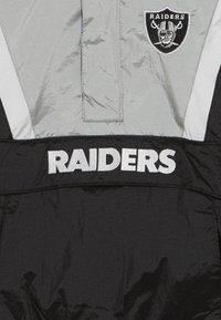 Outerstuff - NFL OAKLAND RAIDERS - Větrovka - black/field silver - 4