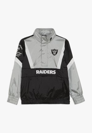 NFL OAKLAND RAIDERS - Windjack - black/field silver