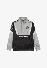 Outerstuff - NFL OAKLAND RAIDERS - Větrovka - black/field silver - 3