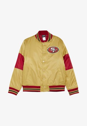 NFL SAN FRANCISO 49ERS VARSITY JACKET - Veste de survêtement - gym red/club gold