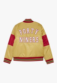 Outerstuff - NFL SAN FRANCISO 49ERS VARSITY JACKET - Veste de survêtement - gym red/club gold - 1