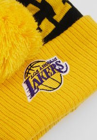 Outerstuff - NBA LOS ANGELES LAKERS CUFFED WITH POM - Mütze - yellow - 2