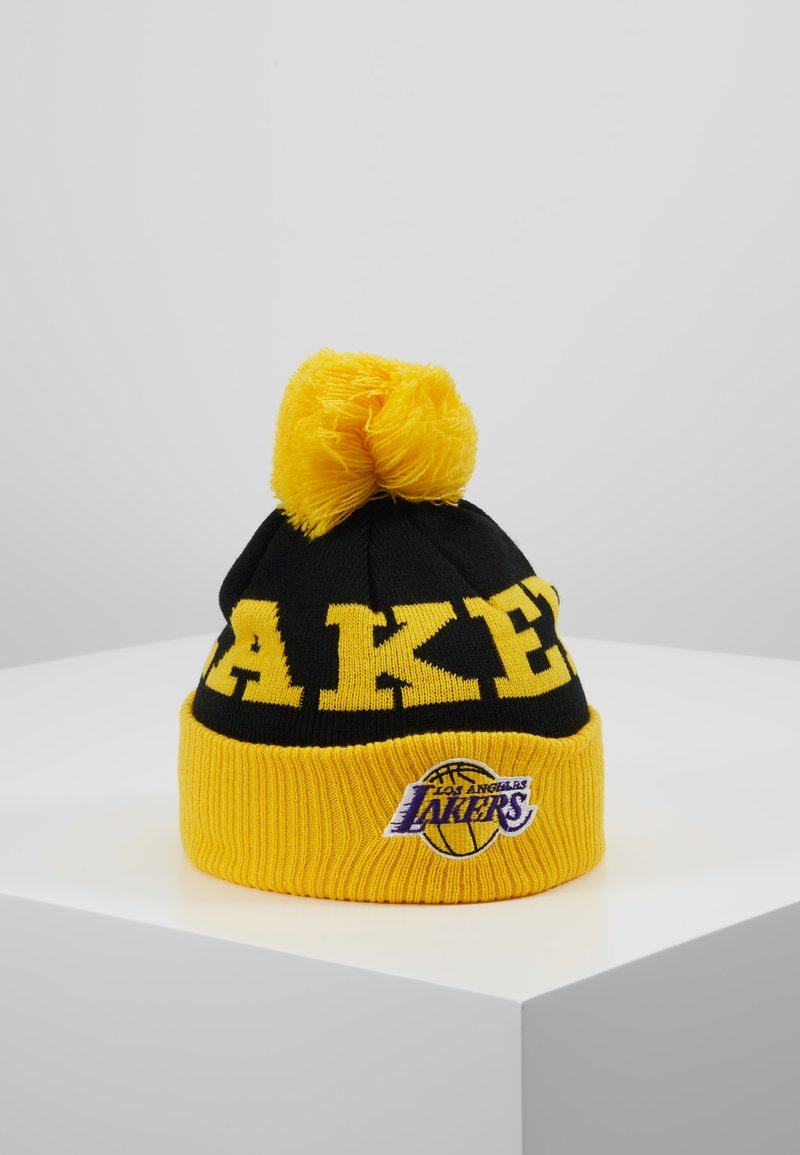 Outerstuff - NBA LOS ANGELES LAKERS CUFFED WITH POM - Mütze - yellow