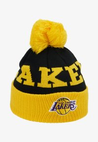 Outerstuff - NBA LOS ANGELES LAKERS CUFFED WITH POM - Mütze - yellow - 1