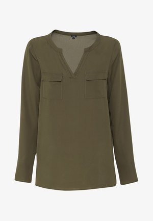 WITH POCKETS - Blusa - Army Green