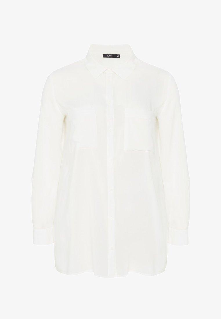 OVS - Button-down blouse - white