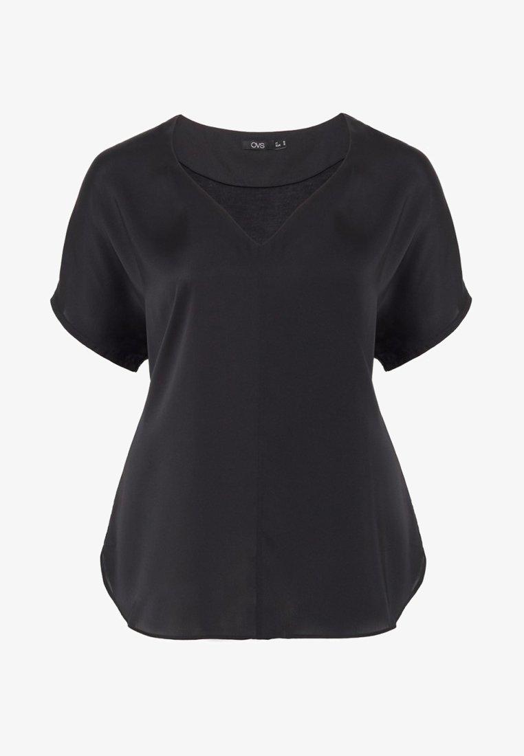 OVS - Basic T-shirt - black