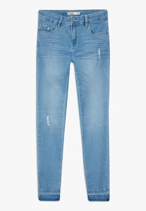 POCKETS SUPERSKINNY - Jeans Skinny Fit - light blue denim