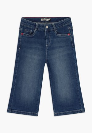 CROPPED  - Bootcut jeans - ensign blue