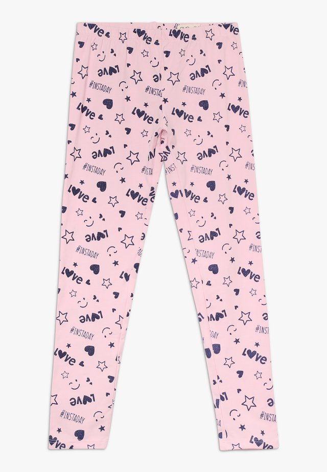 GLITTER - Leggings - Trousers - cherry blossom