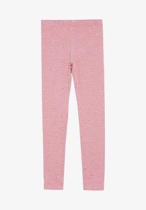 GLITTER PRINT - Leggings - Trousers - mauveglow