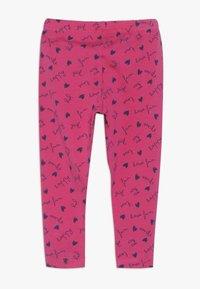 OVS - BABY 2 PACK - Leggings - Trousers - navy blazer/fuchsia purple - 1