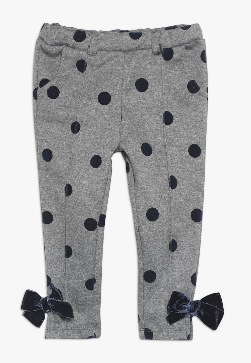 OVS - BABY TROUSERS DOTS BOWS - Broek - smoked pearl